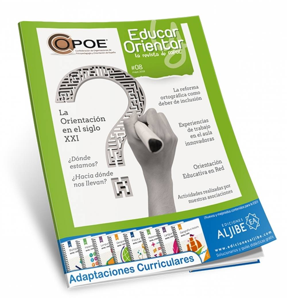 "Disponible el nº 8 de ""Educar y Orientar"", la Revista de COPOE"