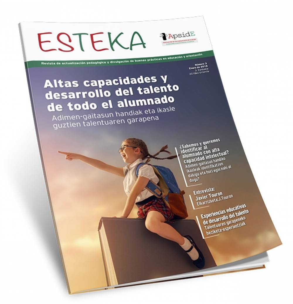 "Disponible el Número 3 de ""Esteka"", la revista de ApsidE"